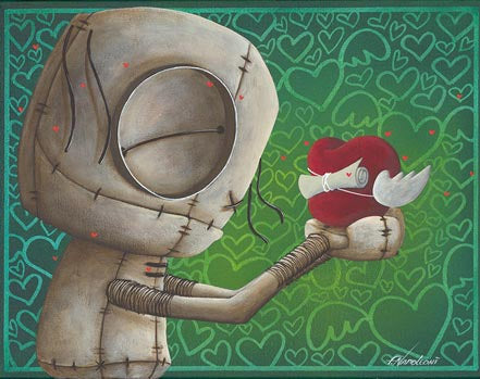 "Fabio Napoleoni ""Words From My Heart"" Open Edition Paper Giclee"