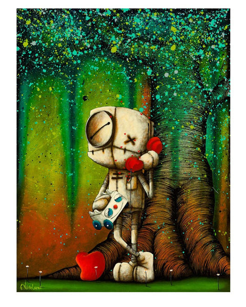 "Fabio Napoleoni ""Your Voice Makes My Heart Sing"" Paper Giclee"