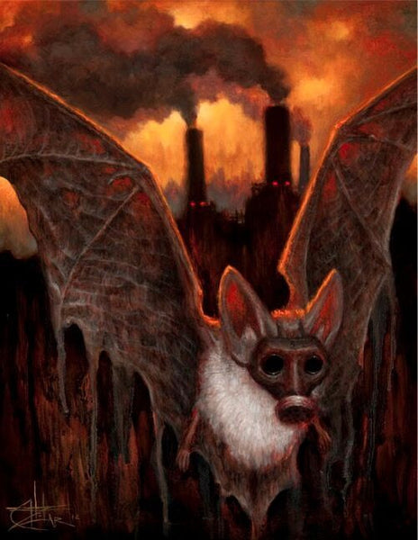 "Chet Zar ""The Bat Escapes"" Limited Edition"