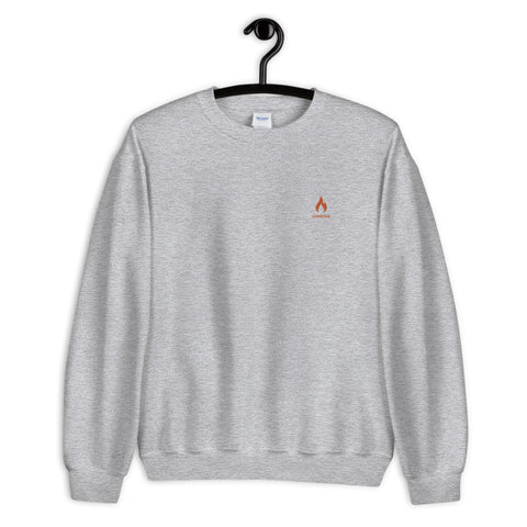 fire icon sweatshirt