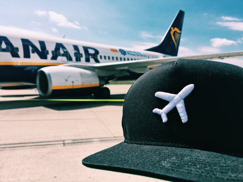 iconspeak travel airplane hat one edition five panel