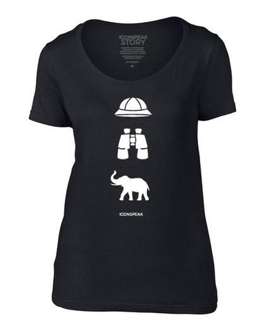 ICONSPEAK Safari Story Women's T-Shirt