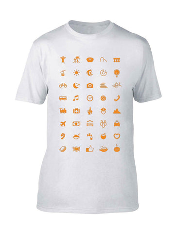ICONSPEAK & Babbel Rio 2016 shirt - ICONSPEAK Travel shirt, traveller t-shirt, backpacker and backpacking shirt