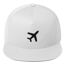 Load image into Gallery viewer, ICONSPEAK ONE Airplane Hat - ICONSPEAK Travel shirt, traveller t-shirt, backpacker and backpacking shirt, icon language shirt