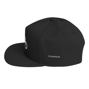 ICONSPEAK ONE Bicycle Hat - ICONSPEAK Travel shirt, traveller t-shirt, backpacker and backpacking shirt, icon language shirt