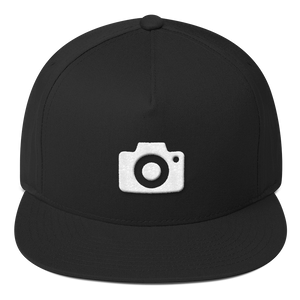 ICONSPEAK ONE Camera Hat - ICONSPEAK Travel shirt, traveller t-shirt, backpacker and backpacking shirt, icon language shirt