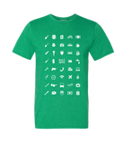 ICONSPEAK Build Abroad - official shirt Men - ICONSPEAK Travel shirt, traveller t-shirt, backpacker and backpacking shirt