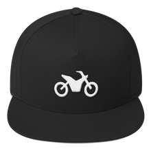 Load image into Gallery viewer, ICONSPEAK ONE Motorbike Hat - ICONSPEAK Travel shirt, traveller t-shirt, backpacker and backpacking shirt, icon language shirt