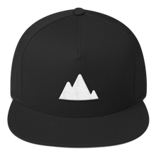 Load image into Gallery viewer, ICONSPEAK ONE Mountain Hat - ICONSPEAK Travel shirt, traveller t-shirt, backpacker and backpacking shirt, icon language shirt