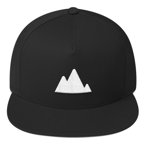 ICONSPEAK ONE Mountain Hat - ICONSPEAK Travel shirt, traveller t-shirt, backpacker and backpacking shirt, icon language shirt