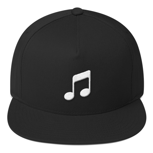 ICONSPEAK ONE Music Hat - ICONSPEAK Travel shirt, traveller t-shirt, backpacker and backpacking shirt, icon language shirt