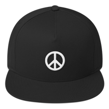 Load image into Gallery viewer, ICONSPEAK ONE Peace Hat - ICONSPEAK Travel shirt, traveller t-shirt, backpacker and backpacking shirt, icon language shirt