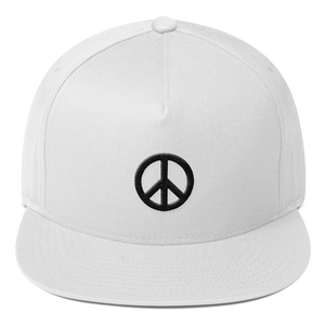 ICONSPEAK ONE Peace Hat - ICONSPEAK Travel shirt, traveller t-shirt, backpacker and backpacking shirt, icon language shirt