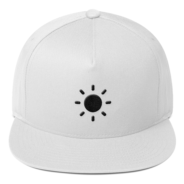 ICONSPEAK ONE Sun Hat - ICONSPEAK Travel shirt, traveller t-shirt, backpacker and backpacking shirt, icon language shirt