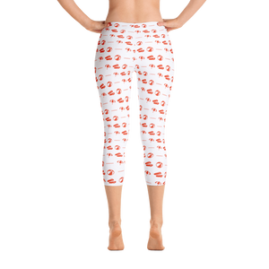 ICONSPEAK Beach Story Leggings - ICONSPEAK Travel shirt, traveller t-shirt, backpacker and backpacking shirt, icon language shirt