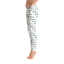 ICONSPEAK Safari Story Leggings - ICONSPEAK Travel shirt, traveller t-shirt, backpacker and backpacking shirt, icon language shirt