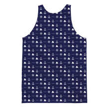 ICONSPEAK Sailor Story All Over Tank - ICONSPEAK Travel shirt, traveller t-shirt, backpacker and backpacking shirt, icon language shirt