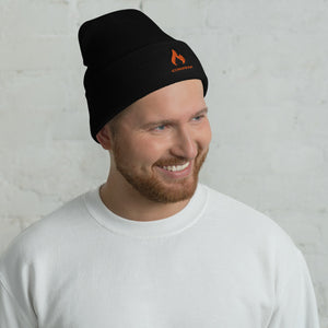 ICONSPEAK ONE Fire Beanie - ICONSPEAK Travel shirt, traveller t-shirt, backpacker and backpacking shirt, icon language shirt