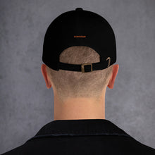 Load image into Gallery viewer, ICONSPEAK One Fire Dad Hat Embroidered - ICONSPEAK Travel shirt, traveller t-shirt, backpacker and backpacking shirt, icon language shirt