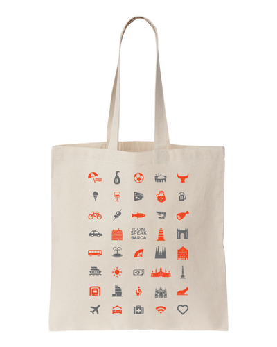 ICONSPEAK Barca Tote bag