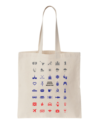 ICONSPEAK Moscow Tote bag