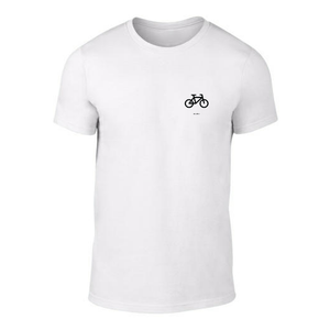 ICONSPEAK ONE Bicycle Shirt - ICONSPEAK Travel shirt, traveller t-shirt, backpacker and backpacking shirt, icon language shirt