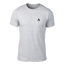 ICONSPEAK ONE Fire Shirt - ICONSPEAK Travel shirt, traveller t-shirt, backpacker and backpacking shirt, icon language shirt