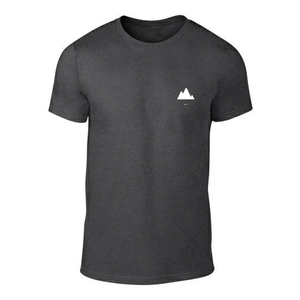 ICONSPEAK ONE Mountain Shirt - ICONSPEAK Travel shirt, traveller t-shirt, backpacker and backpacking shirt, icon language shirt