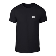 Load image into Gallery viewer, ICONSPEAK ONE Peace Shirt - ICONSPEAK Travel shirt, traveller t-shirt, backpacker and backpacking shirt, icon language shirt