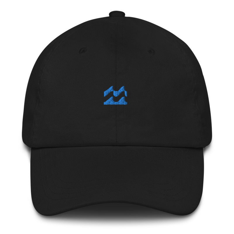 ICONSPEAK One Wave Dad Hat - ICONSPEAK Travel shirt, traveller t-shirt, backpacker and backpacking shirt, icon language shirt