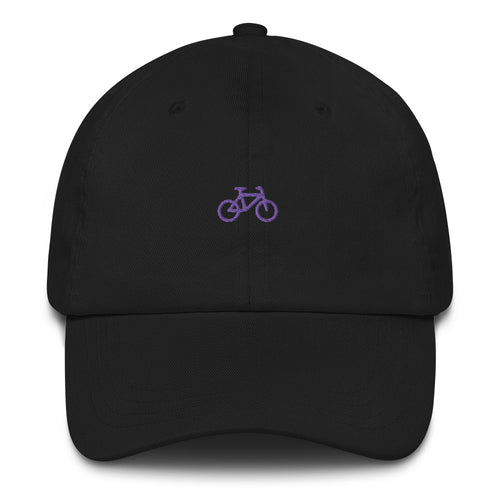 ICONSPEAK One Bicycle Dad Hat - ICONSPEAK Travel shirt, traveller t-shirt, backpacker and backpacking shirt, icon language shirt