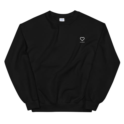 ICONSPEAK One Love Sweatshirt Embroidered