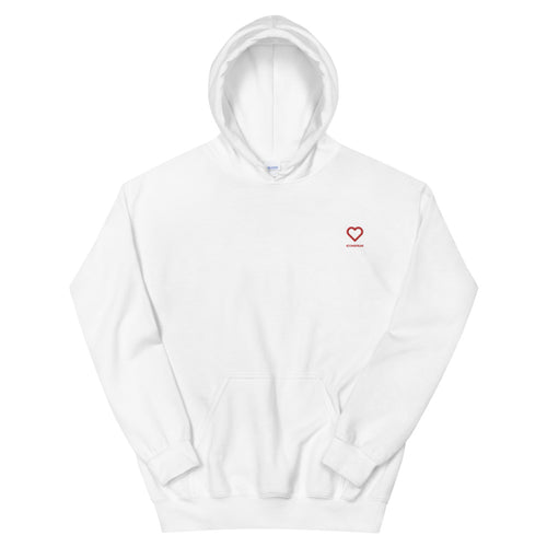 ICONSPEAK ONE Love Hooded Sweatshirt Embroidered