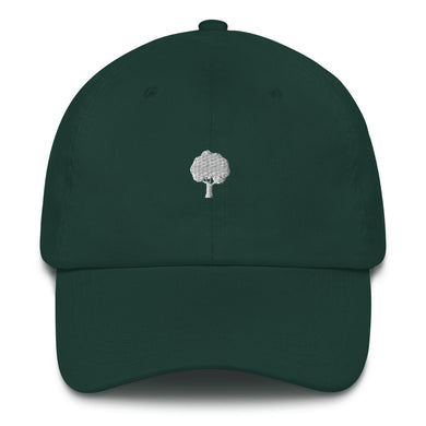 ICONSPEAK ONE Tree Dad Hat - ICONSPEAK Travel shirt, traveller t-shirt, backpacker and backpacking shirt, icon language shirt