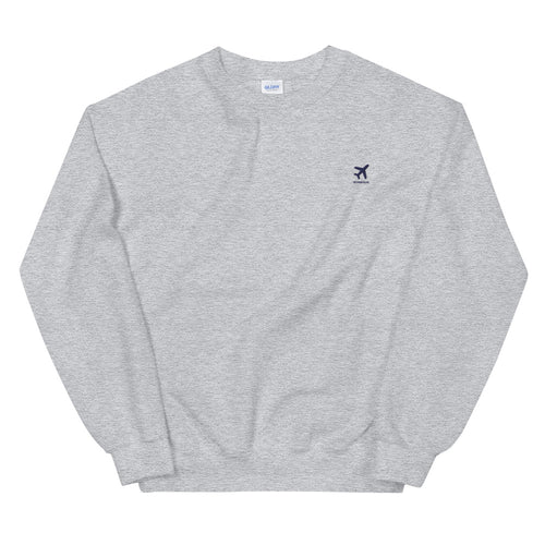 ICONSPEAK ONE Plane Sweatshirt Embroidered