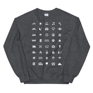 ICONSPEAK World Edition Unisex Traveller Sweatshirt