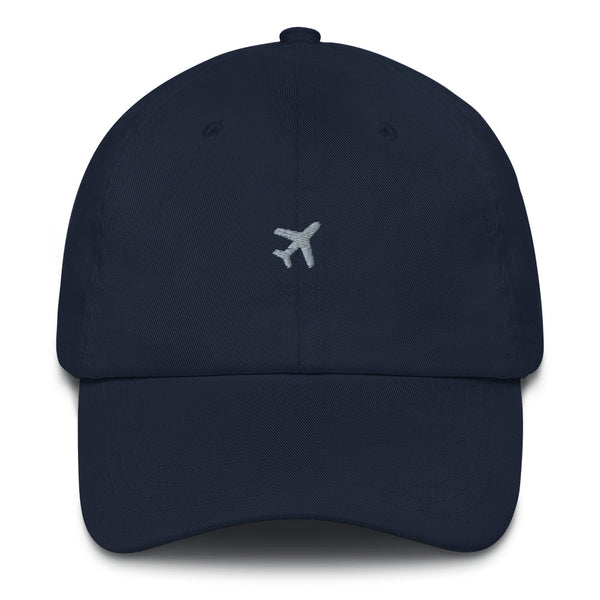 ICONSPEAK ONE Plane Dad Hat - ICONSPEAK Travel shirt, traveller t-shirt, backpacker and backpacking shirt, icon language shirt