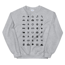 Load image into Gallery viewer, ICONSPEAK World Edition Unisex Traveller Sweatshirt