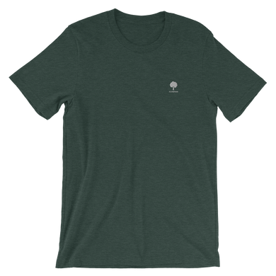 ICONSPEAK ONE Tree Shirt Embroidered - ICONSPEAK Travel shirt, traveller t-shirt, backpacker and backpacking shirt, icon language shirt