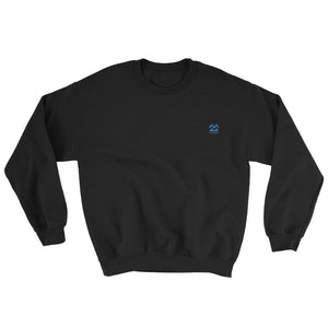 ICONSPEAK ONE Wave Sweatshirt Embroidered - ICONSPEAK Travel shirt, traveller t-shirt, backpacker and backpacking shirt, icon language shirt