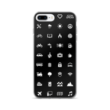 ICONSPEAK World Edition Phone Cases - ICONSPEAK Travel shirt, traveller t-shirt, backpacker and backpacking shirt, icon language shirt