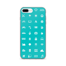 Load image into Gallery viewer, ICONSPEAK World Edition iPhone Cases - ICONSPEAK Travel shirt, traveller t-shirt, backpacker and backpacking shirt, icon language shirt