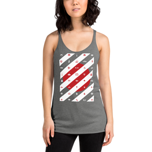ICONSPEAK Tokyo City Women's Tank - ICONSPEAK Travel shirt, traveller t-shirt, backpacker and backpacking shirt, icon language shirt