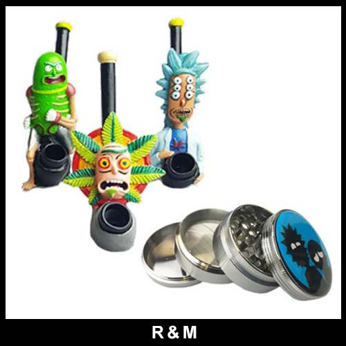 R & M - PIPES / GRINDERS & MORE