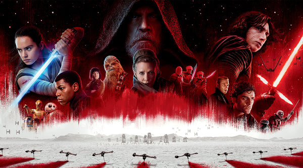 RIAN JOHNSON ON THE PATH TO STAR WARS: THE LAST JEDI