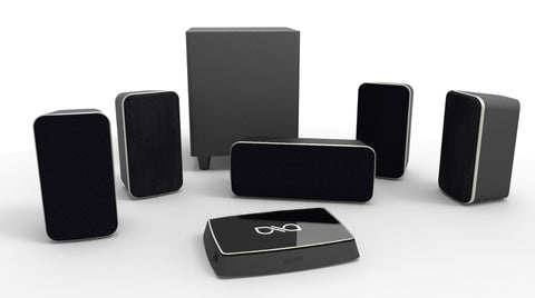 Q Wireless Home Theater System - 5.1 System