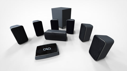Q Wireless Home Theater System - 7.1 System