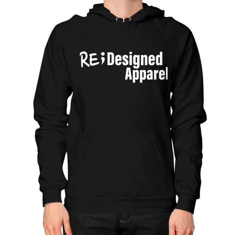 Hoodie (on man) Black RE;Designed Apparel