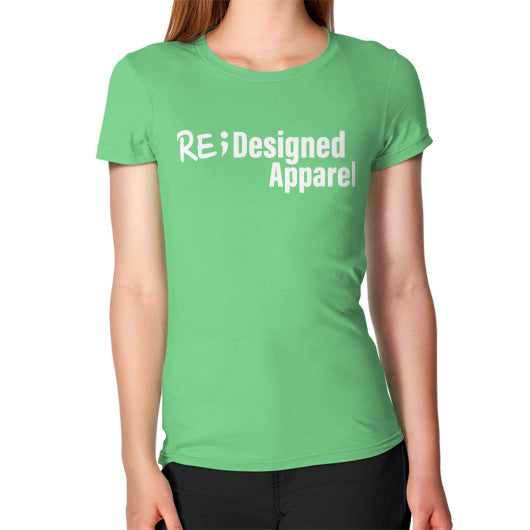 Women's T-Shirt Grass RE;Designed Apparel
