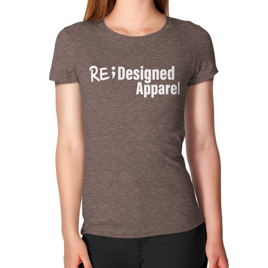 Women's T-Shirt Tri-Blend Coffee RE;Designed Apparel